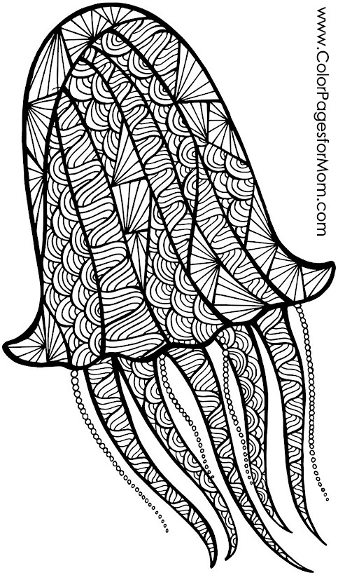 Animals 69 Advanced Coloring Page