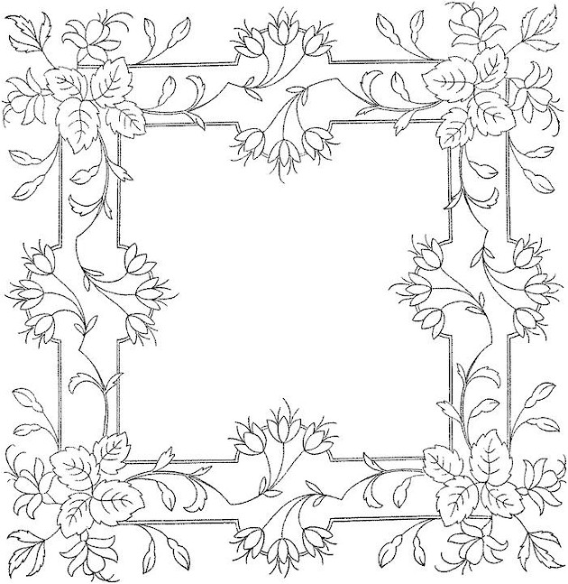 Flower Coloring Page Free Printable Flower Coloring Pages For Adults