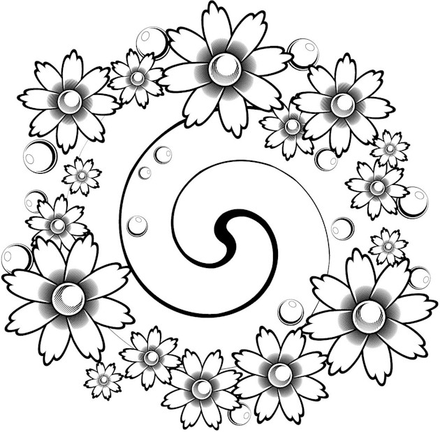 free funky coloring pages - photo#32
