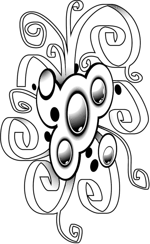 free funky coloring pages - photo#40