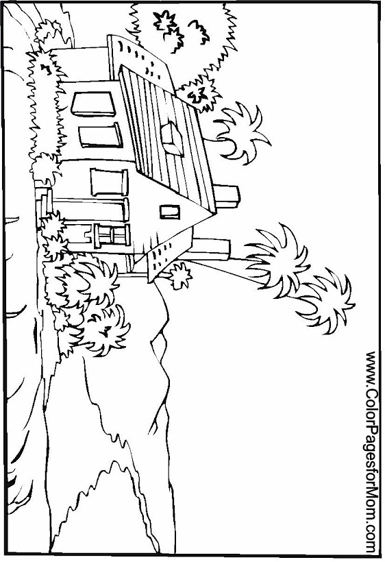 Vacation Coloring Page 20