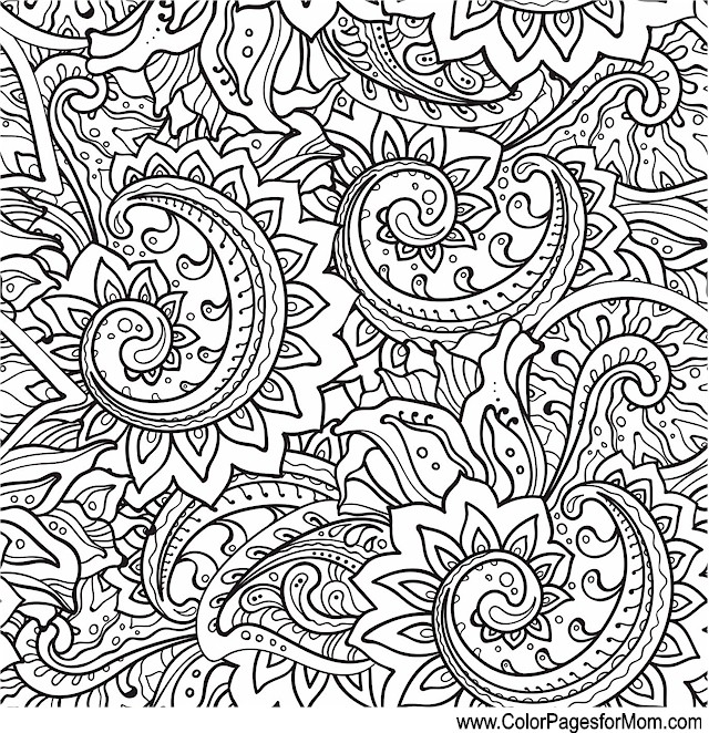 Whimsical Coloring Page 18