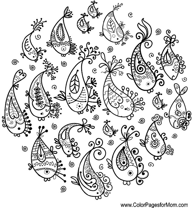 Whimsical Coloring Page 52