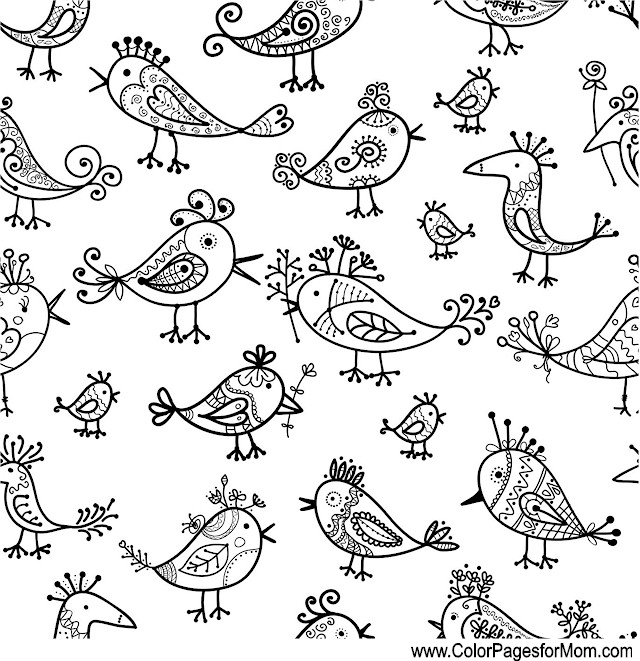 Whimsical Coloring Page 55