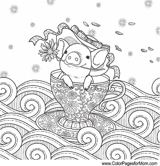 whimsical coloring pages - whimsical coloring page 59