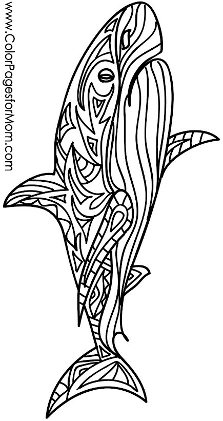 Animals 39 Advanced Coloring Page