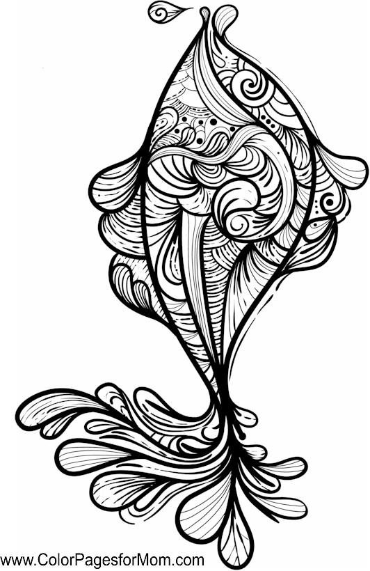 Seascape - Ocean Coloring Page 29