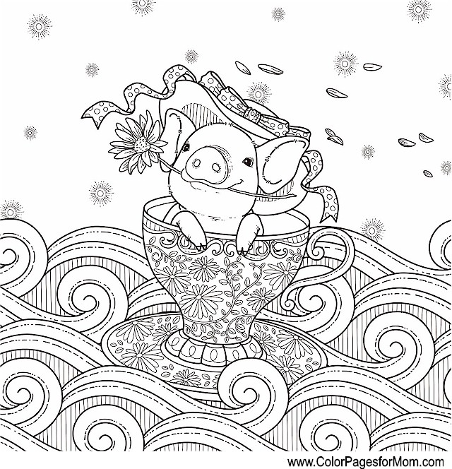 Whimsical Coloring Page 59